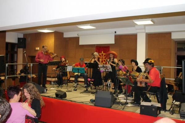 Cierp 2012 : Big Band de Trad au complet