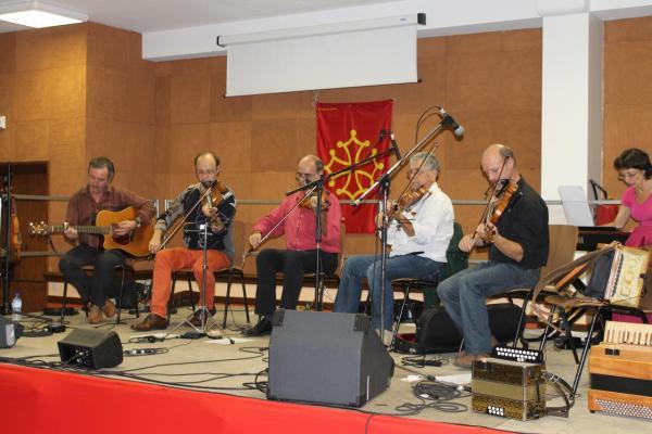 Cierp2012 : Groupe de violonistes Hector Boyaux