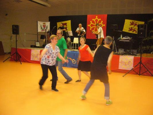 Congo de Captieux endiablé par les Dançam